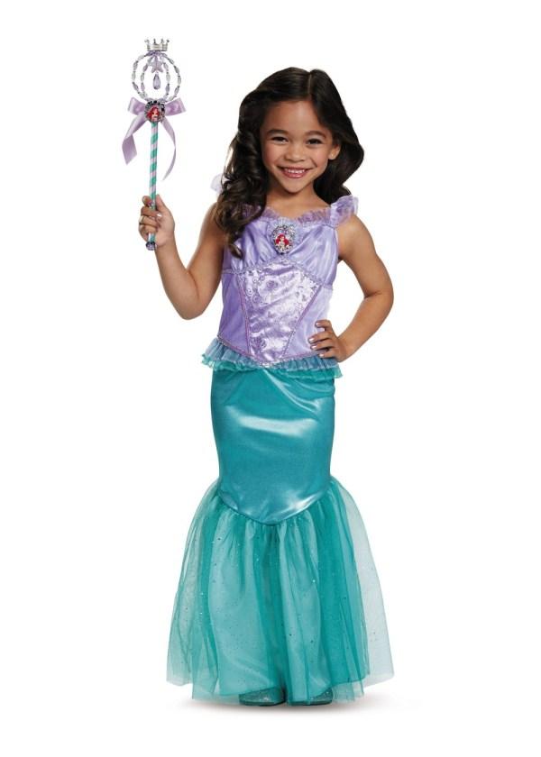 Ariel Disney Girls Costume - Costumes