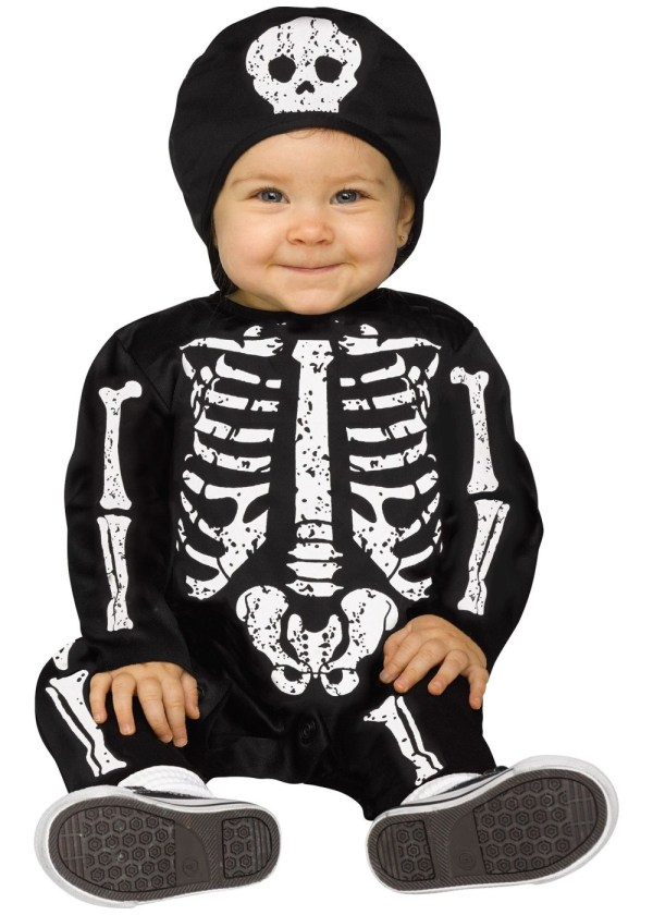Baby Bones Rainbow Color Costume