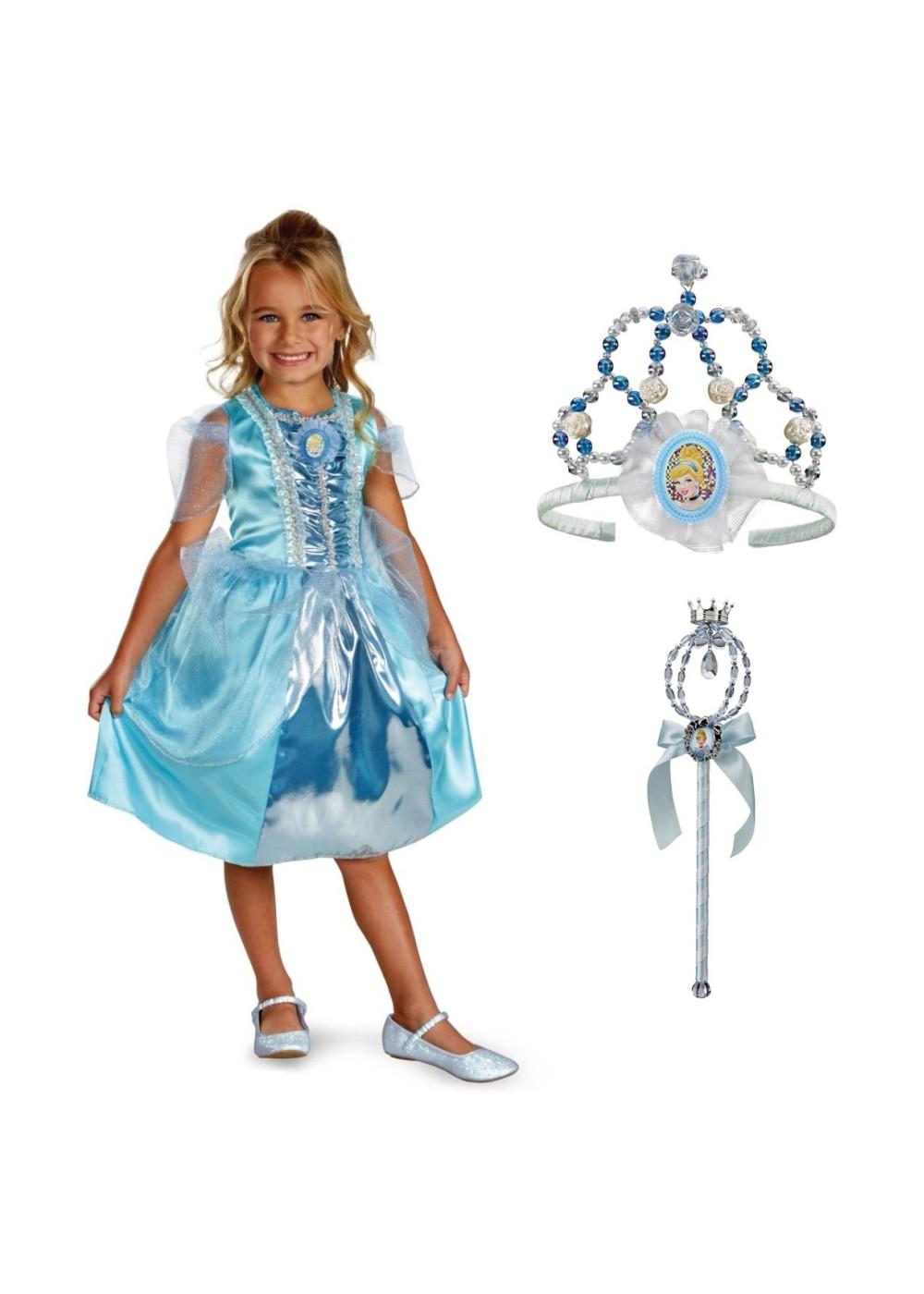 Disney Cinderella Princess Makeover Kit Girls Costume