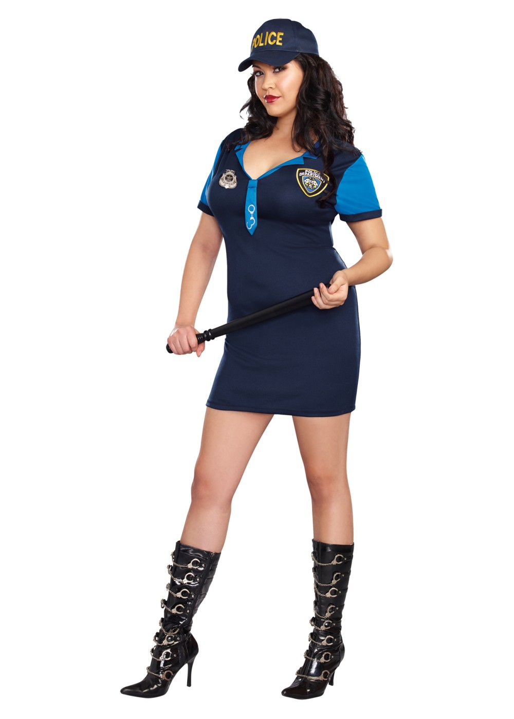 Dirty Detective Plus size Women Costume  Professional Costumes