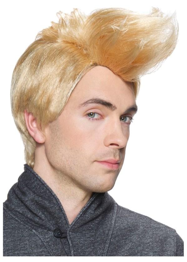 Hipster Blonde Men Wig - Wigs