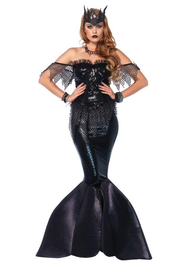 Mermaid Dark Water Siren Women Costume - Sexy Costumes
