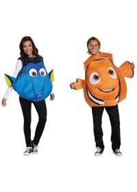 Nemo and Dory Couples Costume Set - Animal Costumes