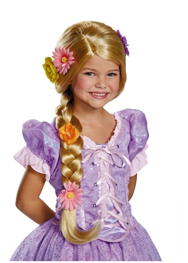 Rapunzel Girls Wig - Accessories