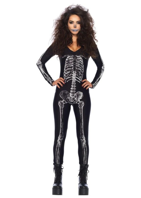 Skeleton Unitard X - Scary Costumes