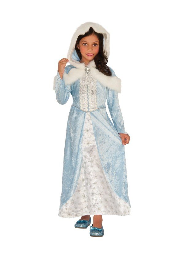 Winter Ice Princess Girl Costume - Costumes
