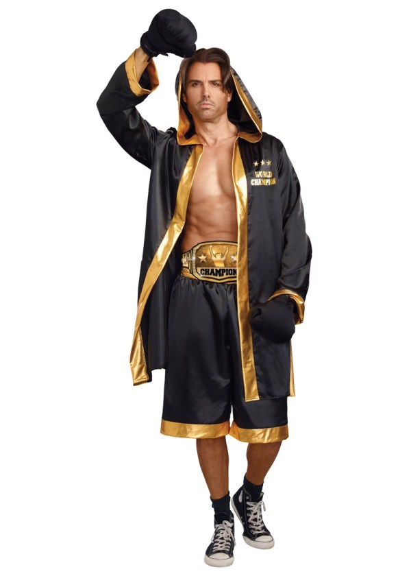 World Champion Boxer Men Costume - Sports Costumes
