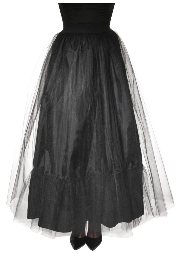 Black Witch Women Skirt - Costumes