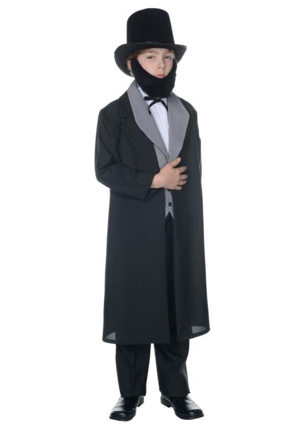 Boys Abraham Lincoln Costume - Historical Costumes