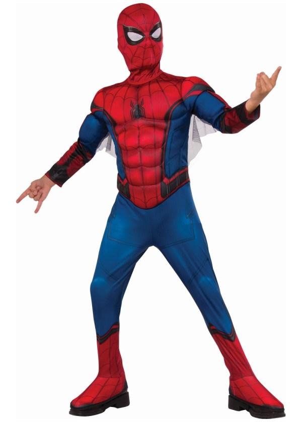 Spiderman Homecoming Boys Costume - Superhero Costumes
