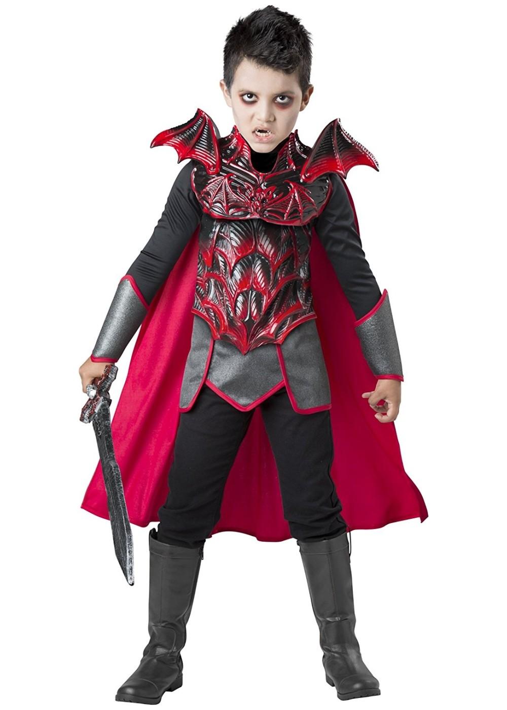 Boys Vampire Warrior Costume  Gothic Costumes