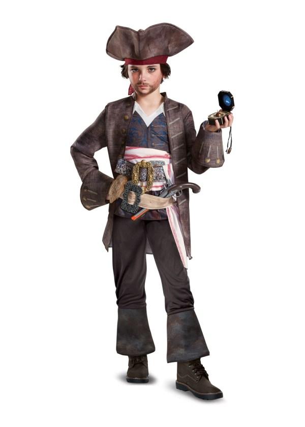 Jack Sparrow Pirate Costume Boys