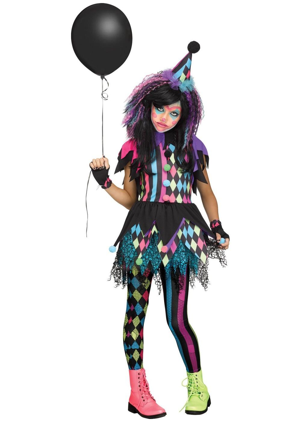 Circus Clown Girl Costume  Clown Costumes
