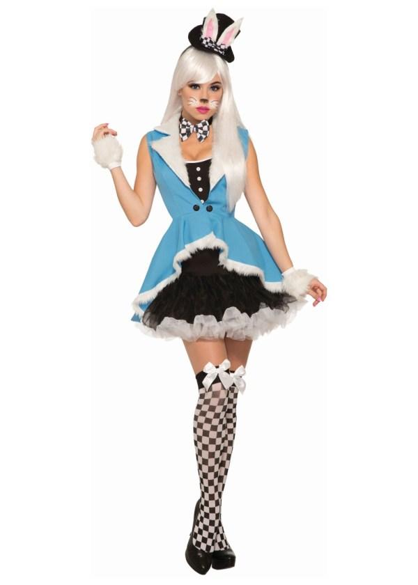 White Rabbit Women Costume - Sexy Costumes