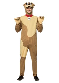 Mens Happy Dog Costume - Funny Costumes