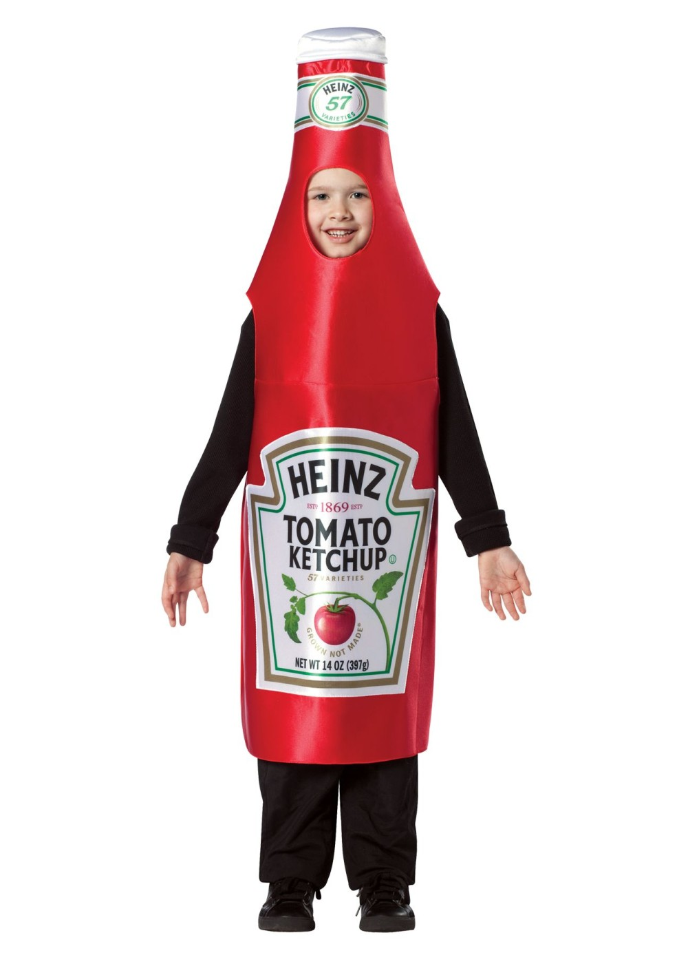 Boys Heinz Ketchup Costume  Food Costumes