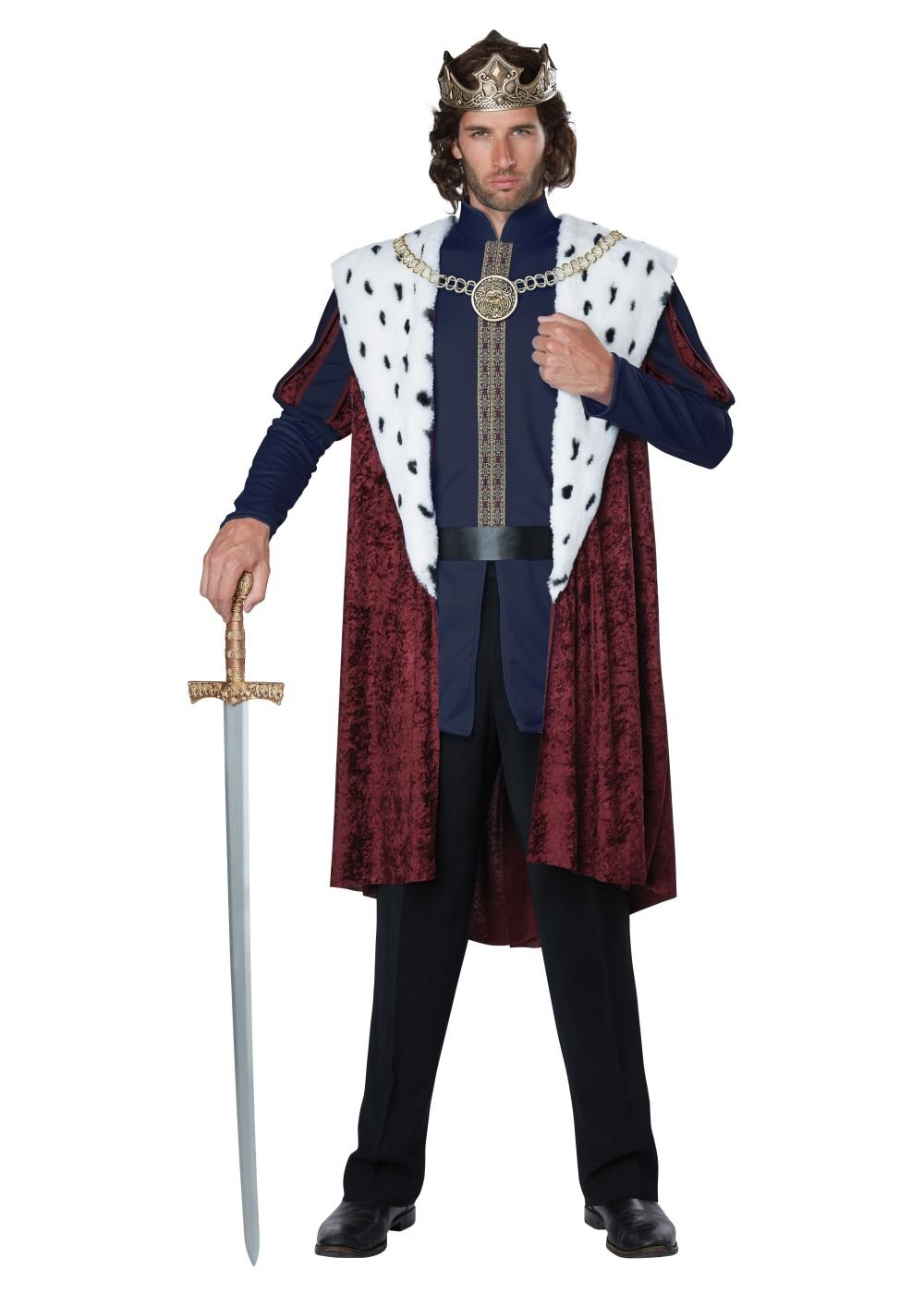 Royal King Men Costume  Renaissance Costumes