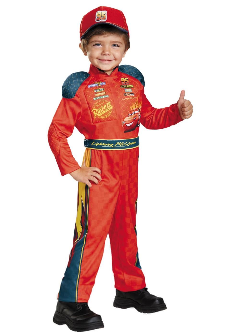 Lightning Mcqueen Boys Costume  Sports Costumes