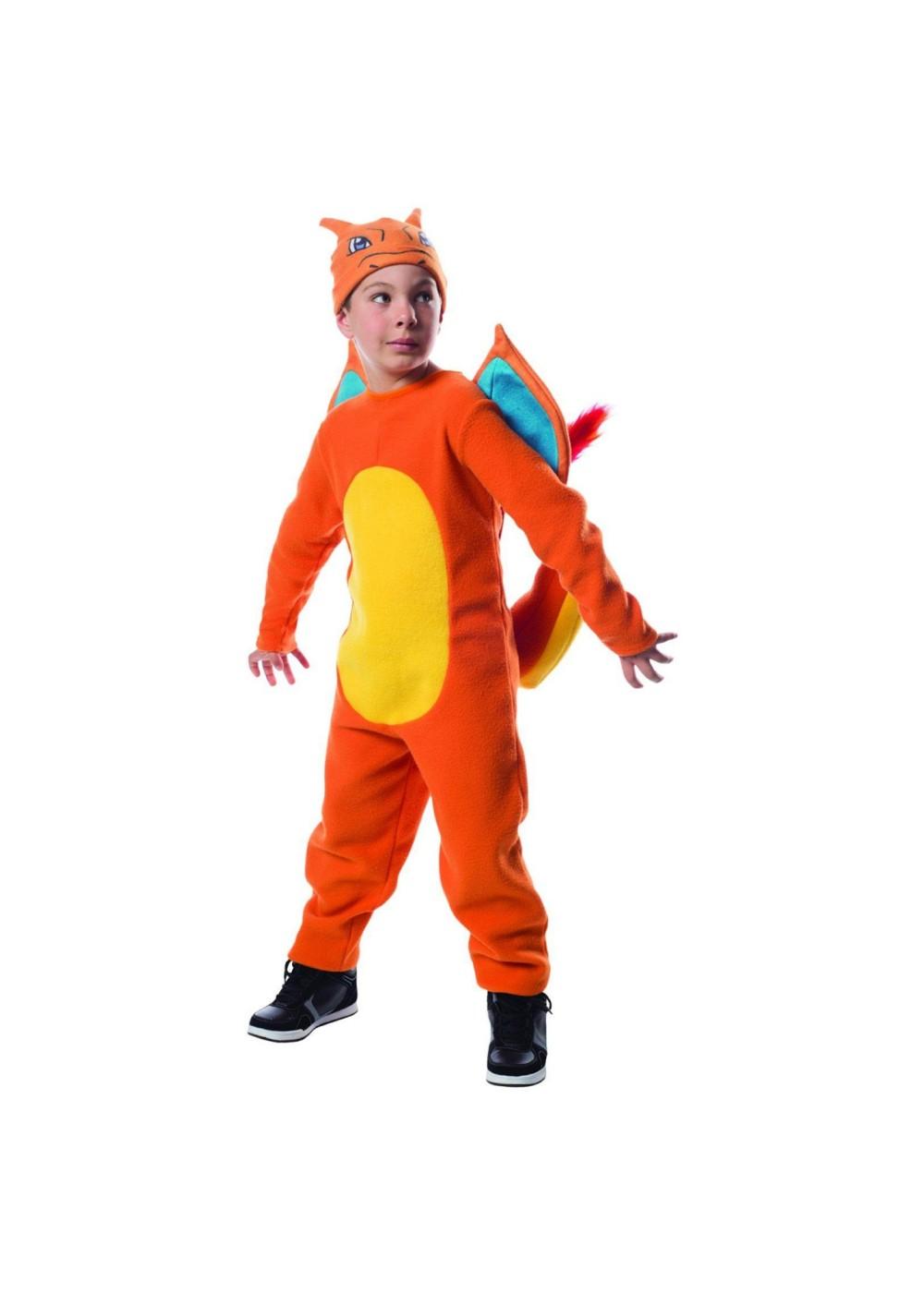 Boys Pokemon Charizard Costume  Video Game Costumes