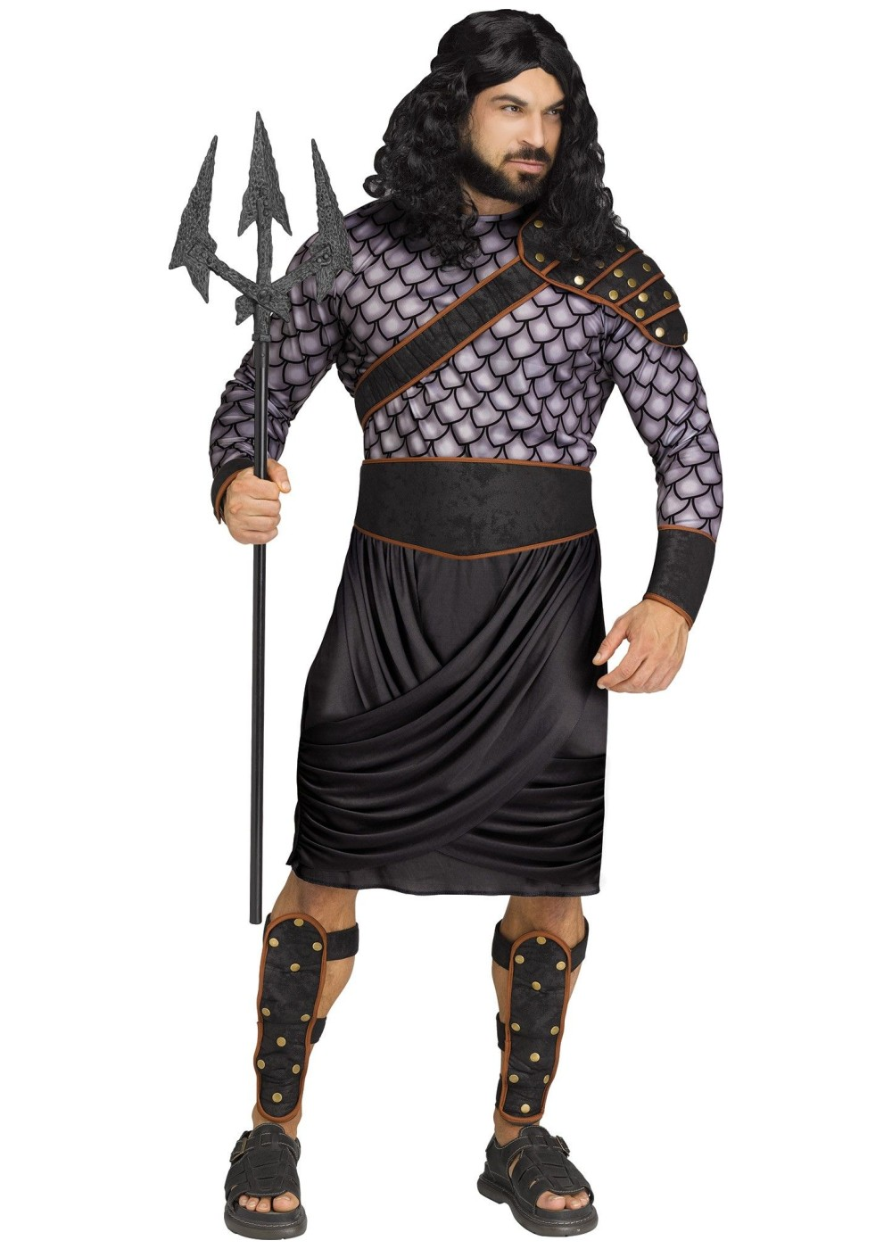 Poseidon Men Costume Greek Costumes