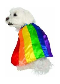 Rainbow Dog Cape - Pet Costumes