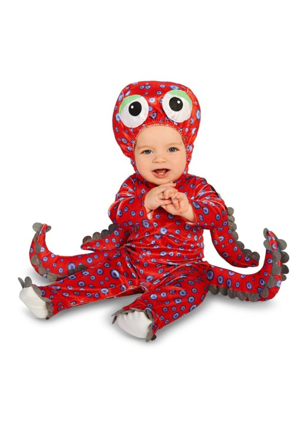 Red Octopus Baby Boys Costume - Animal Costumes