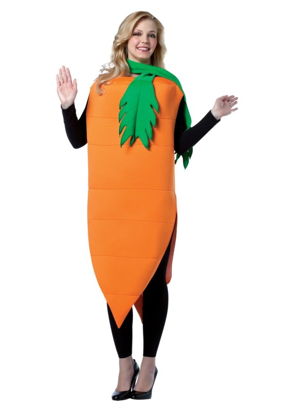 Womens Carrot Costume - Food Costumes