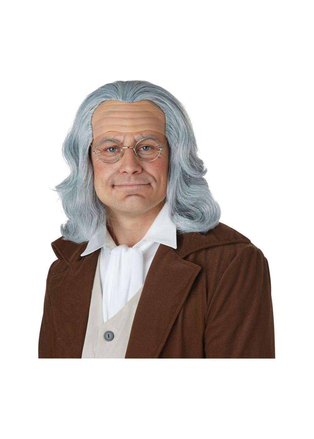 benjamin franklin wig wigs