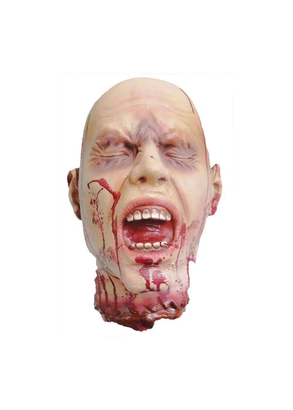 Bloody Head Prop  Halloween Props  Decoration