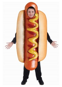 Kids Hot Dog Costume - Food Costumes - New for 2018