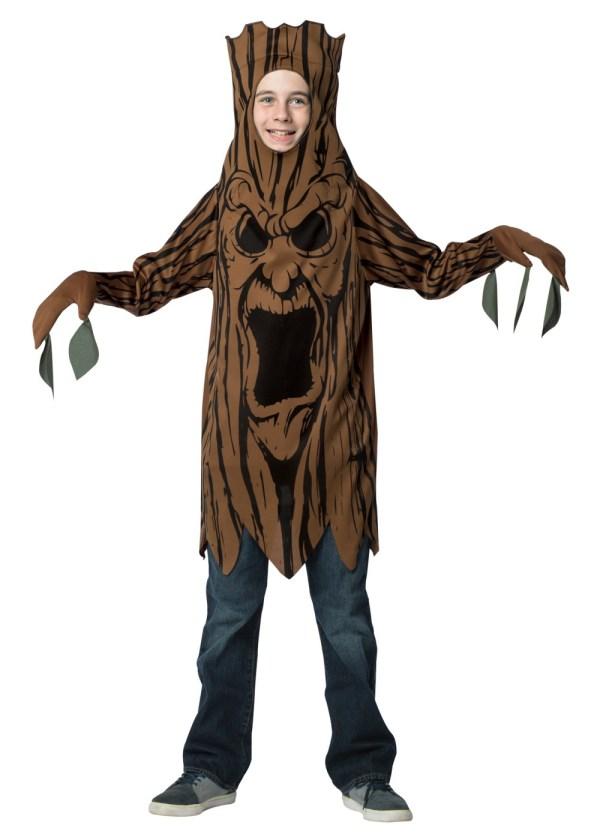 Teen Creepy Tree Costume - Scary Costumes