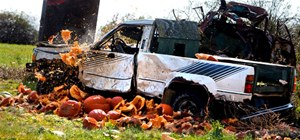 Vaporizing 1000's of Pounds of Pumpkins