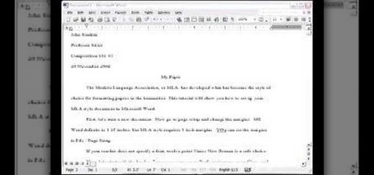 Microsoft Word Essay How To Make An Simple Resume In Microsoft Word
