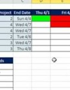 Create an excel gantt chart by conditional formatting also how to rh ms office wonderhowto