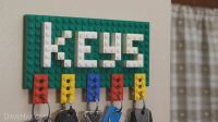 How to Make a Lego Key Holder and Note Clip  MacGyverisms ...