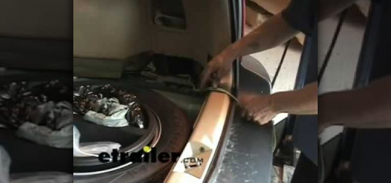 2006 subaru forester stereo wiring diagram green roof water runoff how to install a trailer harness on car mods wonderhowto