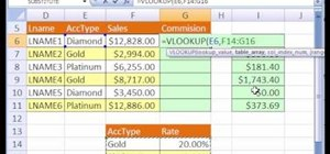 How to Calculate commissions with Excel's IF & VLOOKUP « Microsoft ...