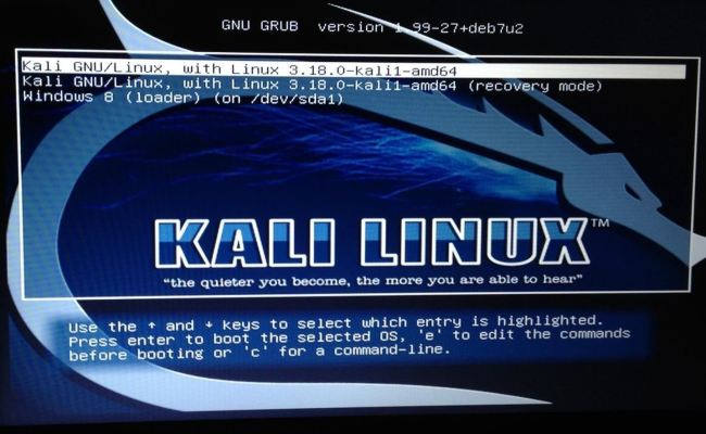 Change Kali Linux Grub Resolution Null Byte Wonderhowto