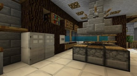 Homes Decoration Tips: Kitchens In Minecraft