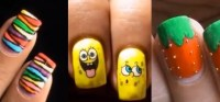 How to Do Nail Designs for Kids!  Nails & Manicure