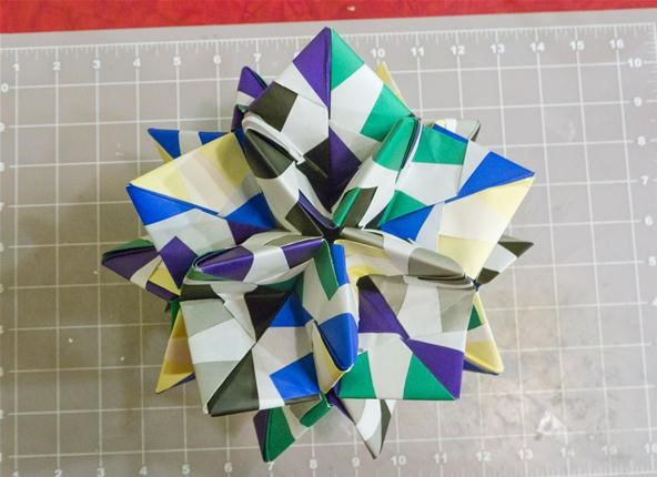 cool modular origami diagram 2006 ford e350 radio wiring how to make a truncated icosahedron pentakis dodecahedron more