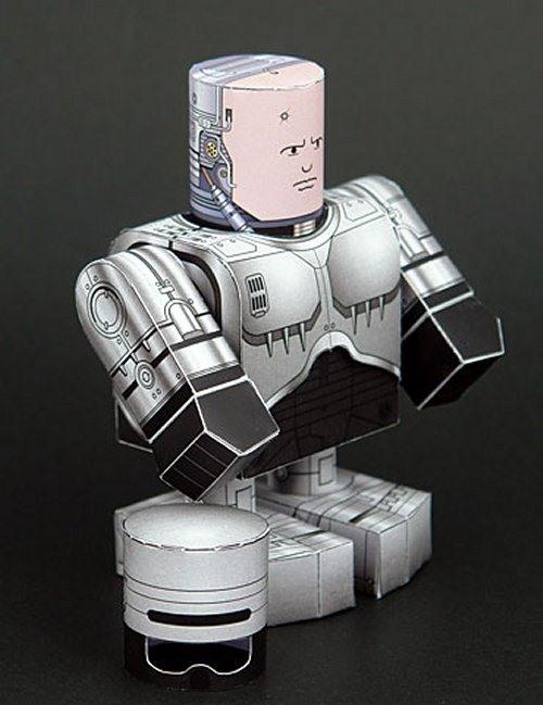 50 FREE Papercraft Robot Downloads  Papercraft