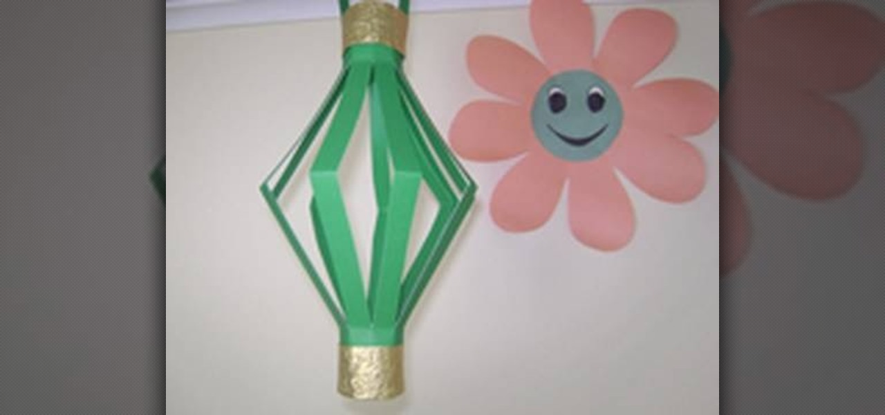 How to Craft a decorative paper lamp with your kids  Kids
