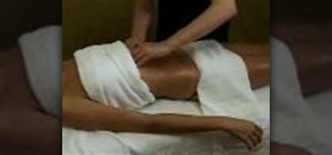 How to Give a good relaxing massage  Massage  WonderHowTo
