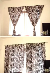 How to Hang Curtains Without Making Holes in the Wall ...