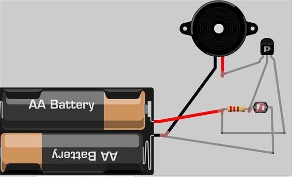 Light Dependent Resistor Pc Desk Lamp