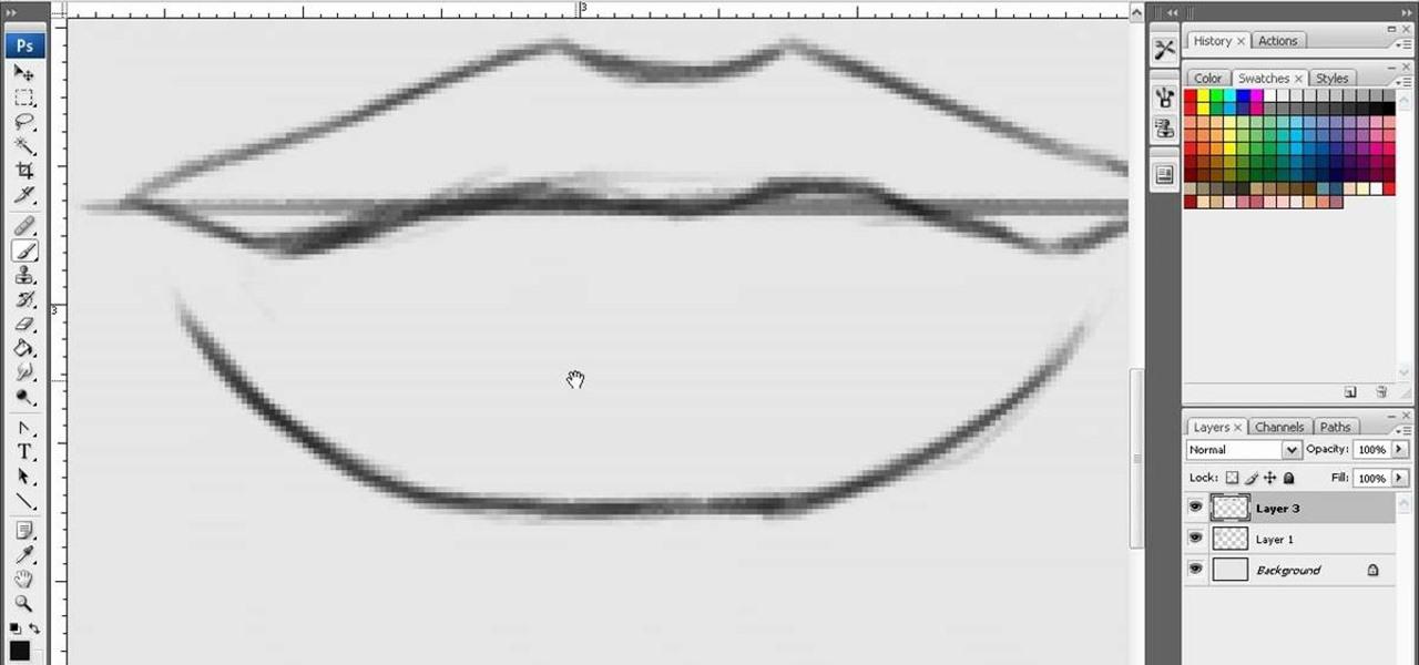 How to Draw sexy lips in Photoshop « Photoshop :: WonderHowTo