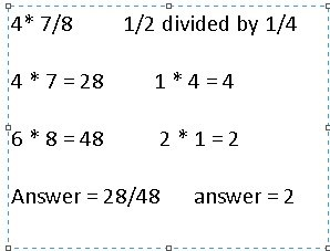 How to Multiply and Divide Fractions « Mauna Loa Assessment