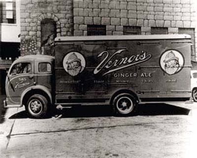 Old Vernors Delivery Truck