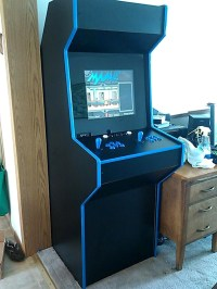 Custom Made MAME Arcade Cabinet  Retro Gaming :: WonderHowTo